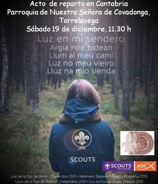 Acto  de reparto en Cantabria
